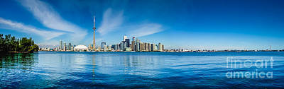 Photograph - Toronto Skyline Panorama by JR Photography