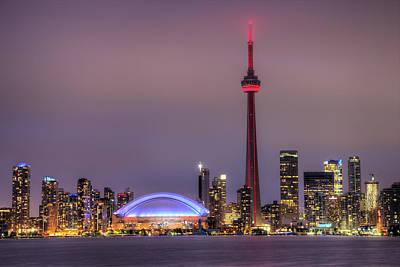 Toronto Skyline Art Print by Shawn Everhart