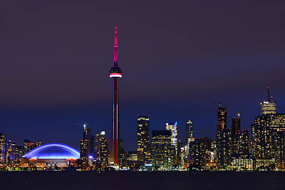 Photograph - Toronto Skyline by Tony Beck