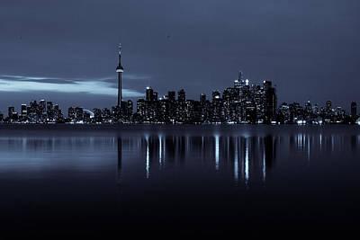 Photograph - Toronto Skyscape by Milan Kalkan