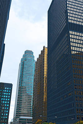 Photograph - Toronto Skyscrapers Office Towers by Marek Poplawski