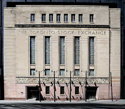 Photograph - Toronto Stock Exchange 1 by Andrew Fare