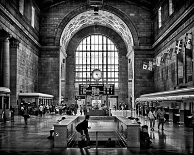 Toronto Union Station 323pm Art Print by Brian Carson