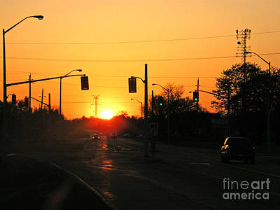 Photograph - Toronto - Urban Sunset by Phil Banks