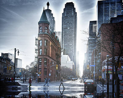 Photograph - Toronto Wet by Patrick Boening
