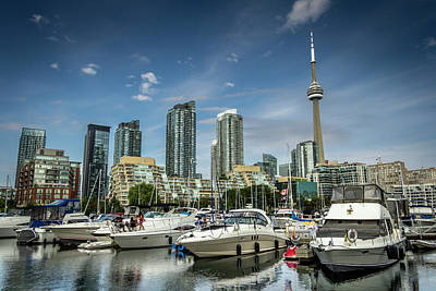 Photograph - Toronto Yatchs by Jean Surprenant