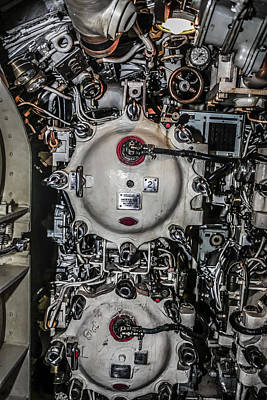 Cargo Boats Rights Managed Images - Torpedo Room Royalty-Free Image by Chris Smith