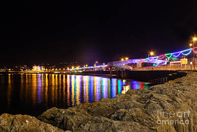 Photograph - Torquay Lights by Terri Waters