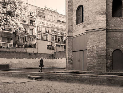 Photograph - Torre De Las Aguas, Barcelona by Stefano Buonamici