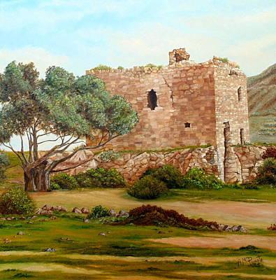 Torre De Los Alumbres Original by Angeles M Pomata