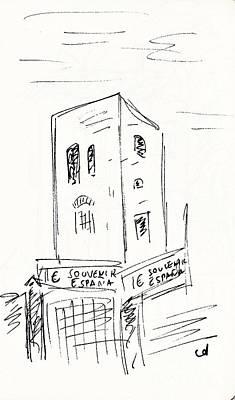 Torre De Los Molinos Art Print