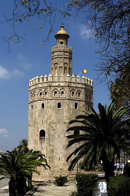Photograph - Torre Del Oro by Lorraine Devon Wilke