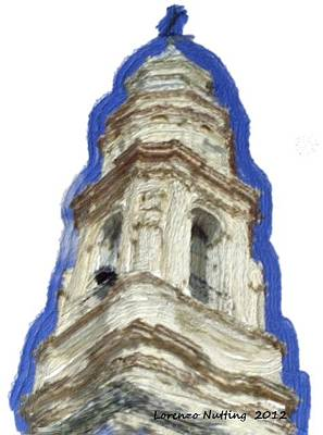 American West - Torre en Ecija Spain by Bruce Nutting