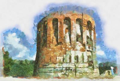 Mixed Media - Torre  Quezzi 0880 - By Enrico Pelos by Enrico Pelos
