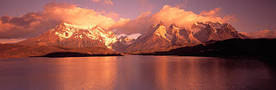 Mountain Photograph - Torres De Paine National Park Chile by Panoramic Images