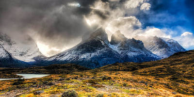 Photograph - Torres Del Paine 1 by Roman St