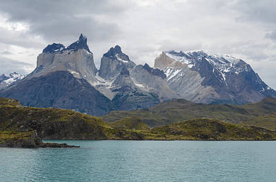 Torres Del Paine Art Print by Eric Dewar