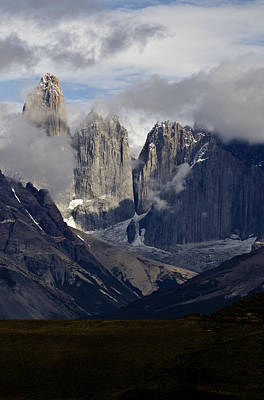 Photograph - Torres Del Paine In Chilean Patagonia by Sally Ross
