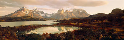 Magnificent Mountain Image Photograph - Torres Del Paine National Park Chile by Panoramic Images