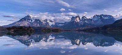 Seascape. Winter Photograph - Torres Del Paine by Vladimir Driga