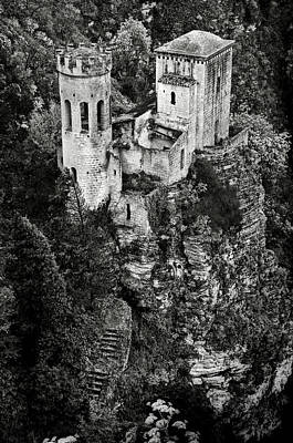 Photograph - Torretta Pepoli Bw by RicardMN Photography