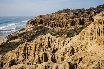 Photograph - Torrey Pines Razor Point 3 by Lee Kirchhevel