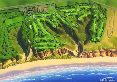 Painting - Torrey Pines by Robin Moline