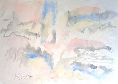 Painting - Torrid Landscape by Esther Newman-Cohen