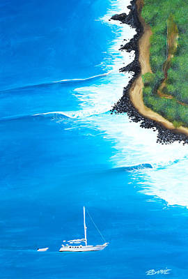 Painting - Tortolla by Ronnie Jackson