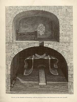 Dungeon Photograph - Torture Chambers by Middle Temple Library