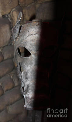 Photograph - Torture Mask - Pay For Your Sins by Lee Dos Santos