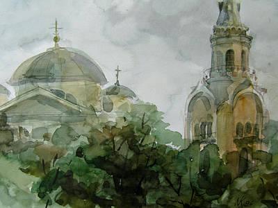Graphics Painting - Torzhok by Khromykh Natalia