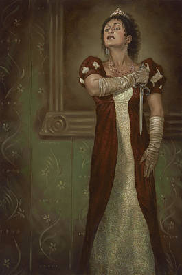 Tosca Painting - Tosca Opera by Matt Hughes