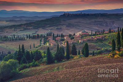 Peaceful Scene Photograph - Toscana by Marco Crupi