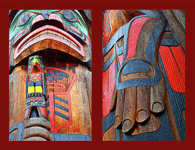 Photograph - Totem 2 by Theresa Tahara