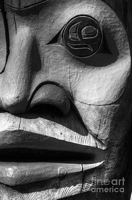 Indian Tribal Art Photograph - Totem 3 by Bob Christopher