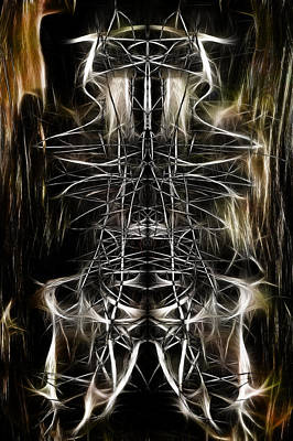 Digital Art - Totem Baboon by Selke Boris