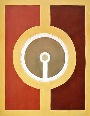 5th Dimension Painting - Totem Mandala by Elle Nicolai