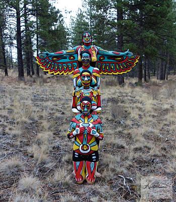 Natalie Fletcher Photograph - Totem by Natalie Fletcher