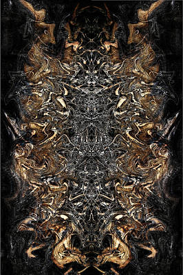 Digital Art - Totem Of Aries by Selke Boris