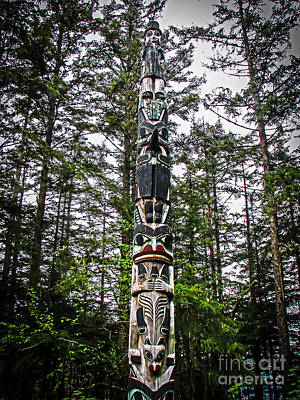 Photograph - Totem Pole Of Southeast Alaska by Robert Bales