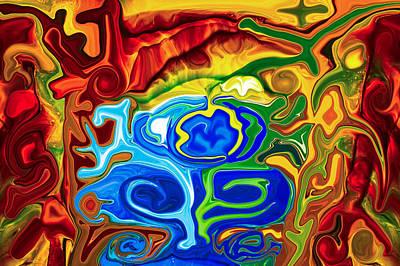 Totem Spirits Art Print