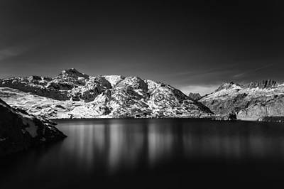 Photograph - Totesee At Grimsel Pass Switzerland by Charles Lupica
