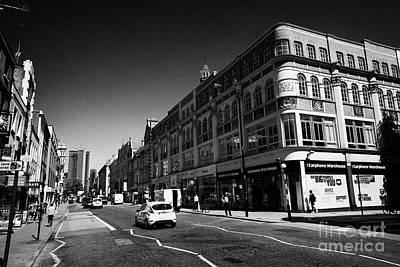 Tottenham Photograph - tottenham court road London England UK by Joe Fox