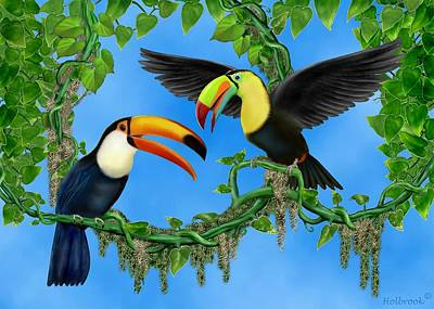 Toucan Play Art Print by Glenn Holbrook
