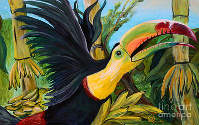 Toucan Original by Robert Schippnick