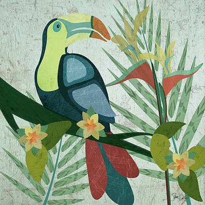 Toucan Painting - Toucan by Shanni Welsh