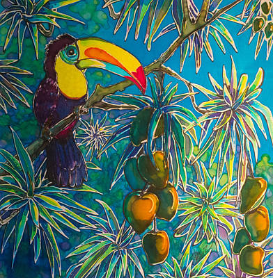 Toucan Tango For Mango Original by Kelly  ZumBerge