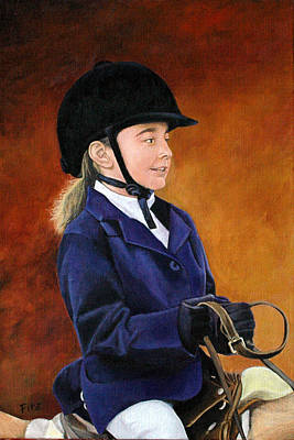 Painting - Touch Of Class by Rick Fitzsimons