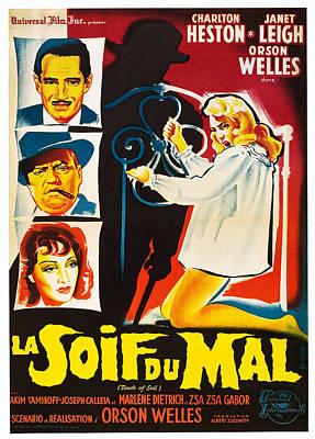 Touch Of Evil, Aka La Soif Du Mal, Left Art Print by Everett